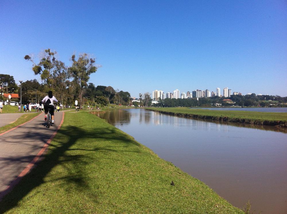 Photo in Nature #barigui #parque #parque barugui #caminhada #ciclovia