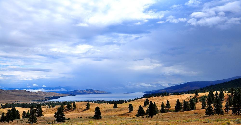 Photo in Landscape #flathead lake #montana #lake #inland lake