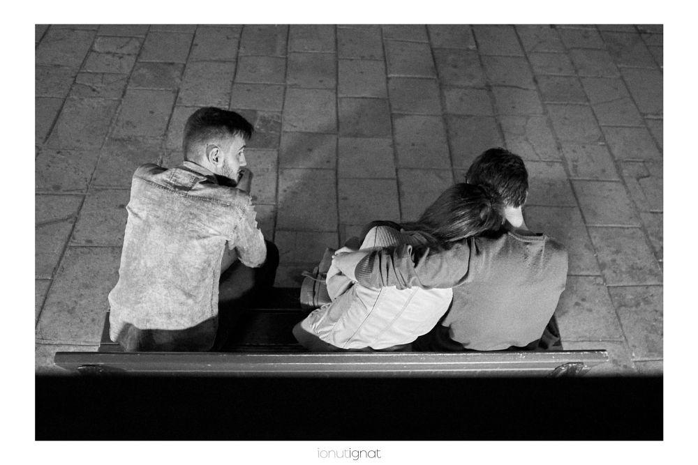 Photo in Street Photography #ilove #street #photography #ionutignat #visualcontemplation #storytelling #bnw #blackandwhite
