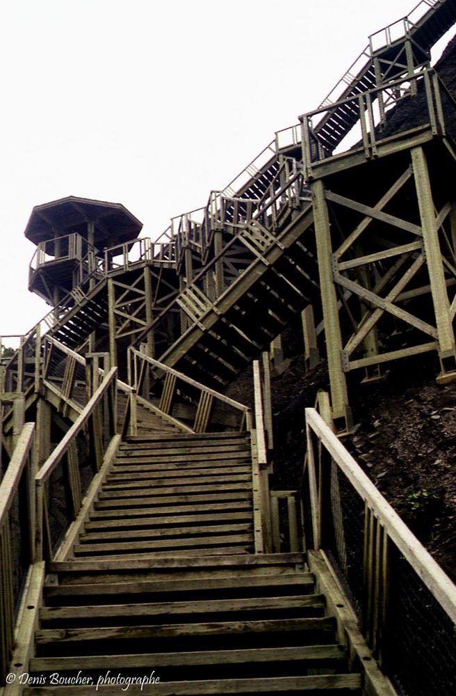 Photo in Random #canada #chute montmorency #escalier #quebec