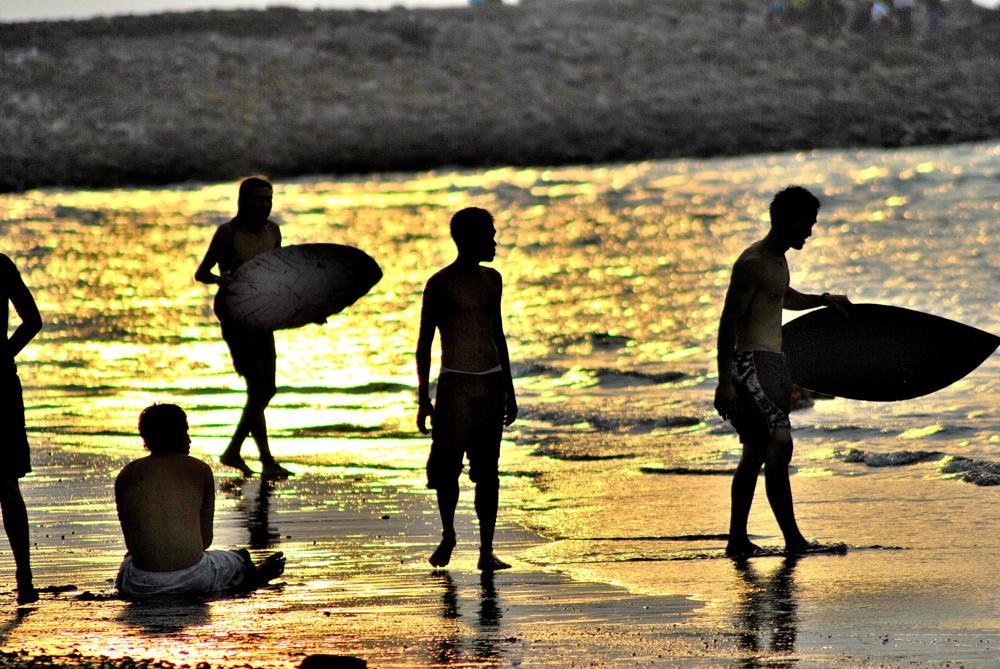 Photo in Sports #sunset #wakeboarding #waket ski