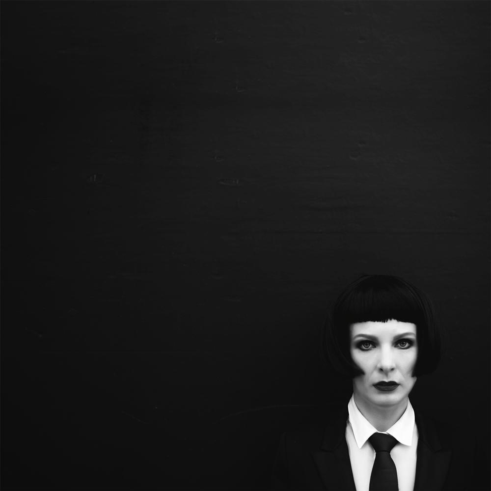 Photo in Portrait #portait #black & white #square
