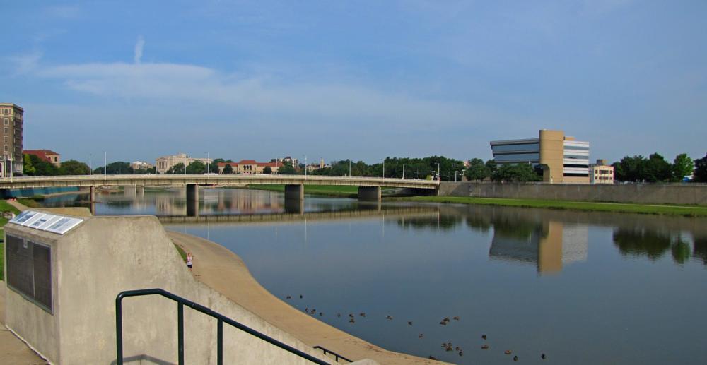 Photo in Random #dayton #river