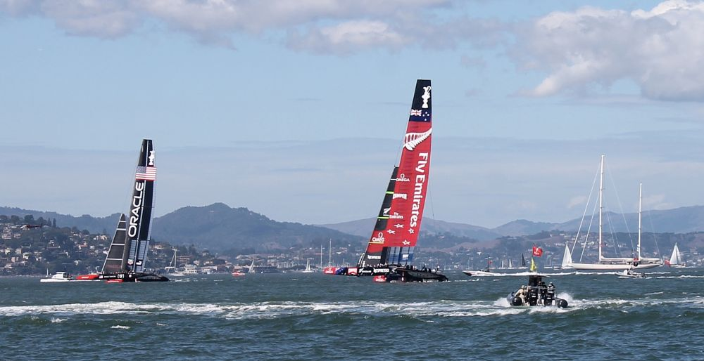Photo in Sea and Sand #america's cup #sailing #competition #san francisco bay #2013