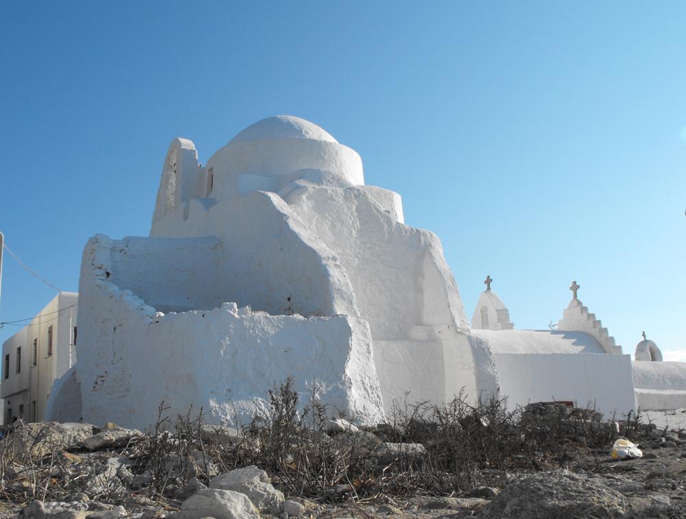 Photo in Architecture #greek orthodox church #church #mykonos #greece
