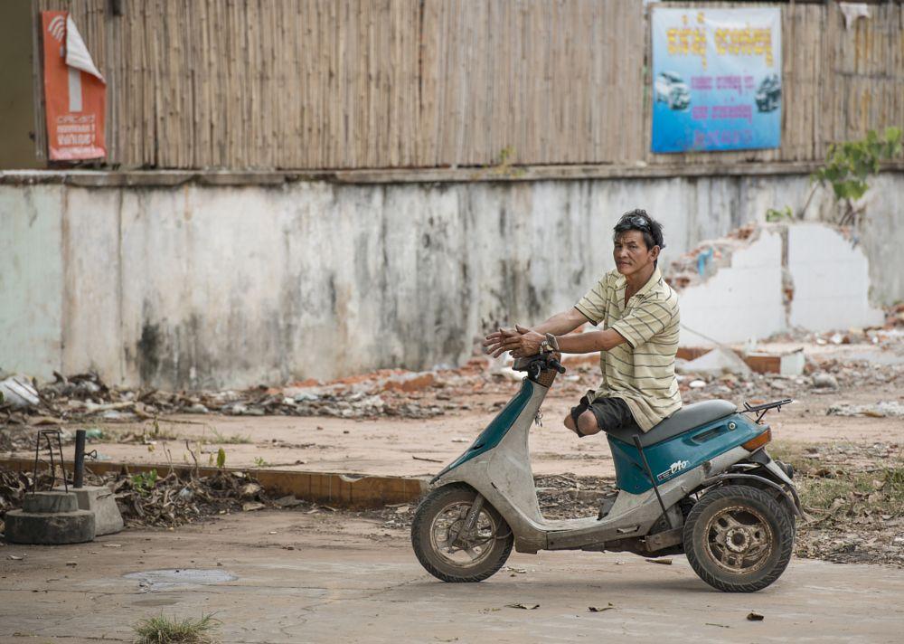 Photo in Street Photography #landmine #cambodia #siem reap #victime #motorbike