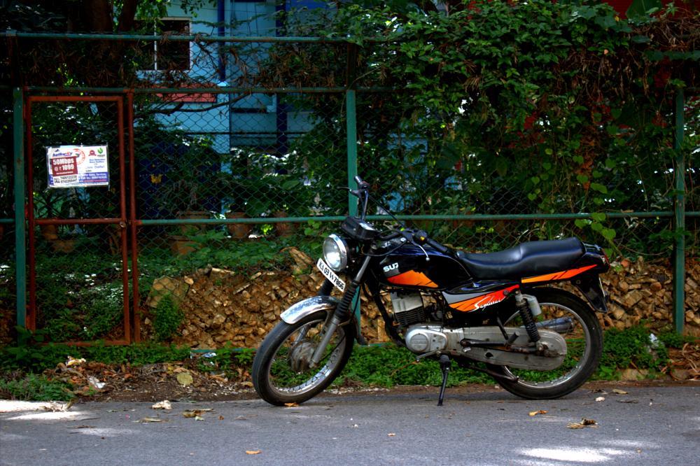 Photo in Vehicle #twostroke #1998 #17yearsold #suzuki #samurai #bangalore #secondbike