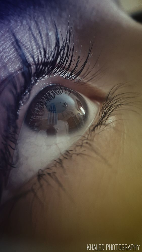 Photo in Abstract #eye #innocent #beautiful