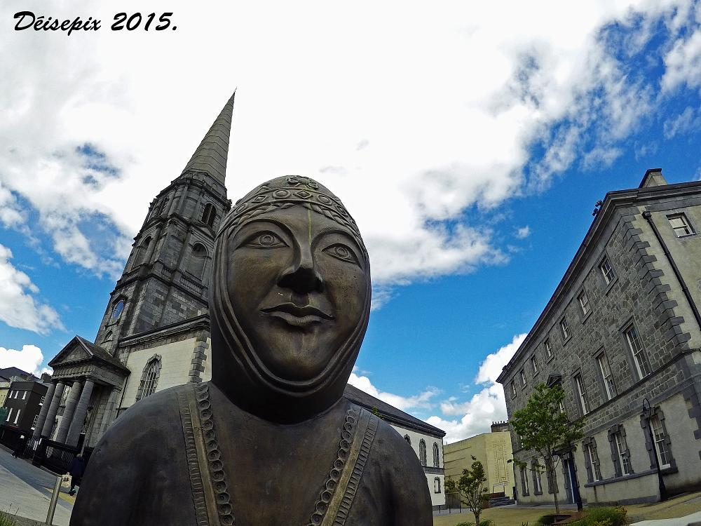 Photo in Architecture #aoife #bronze #statue #church #gopro #hero 4 #waterford #ireland