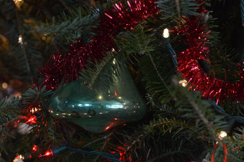 Photo in Random #christmas #decorations #ornaments #lights #tree #holiday #garland