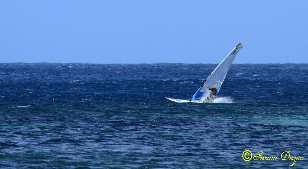 Photo in Sea and Sand #mare #vento #azzurro #surf #libertà #sport #palermo #sicilia #italia