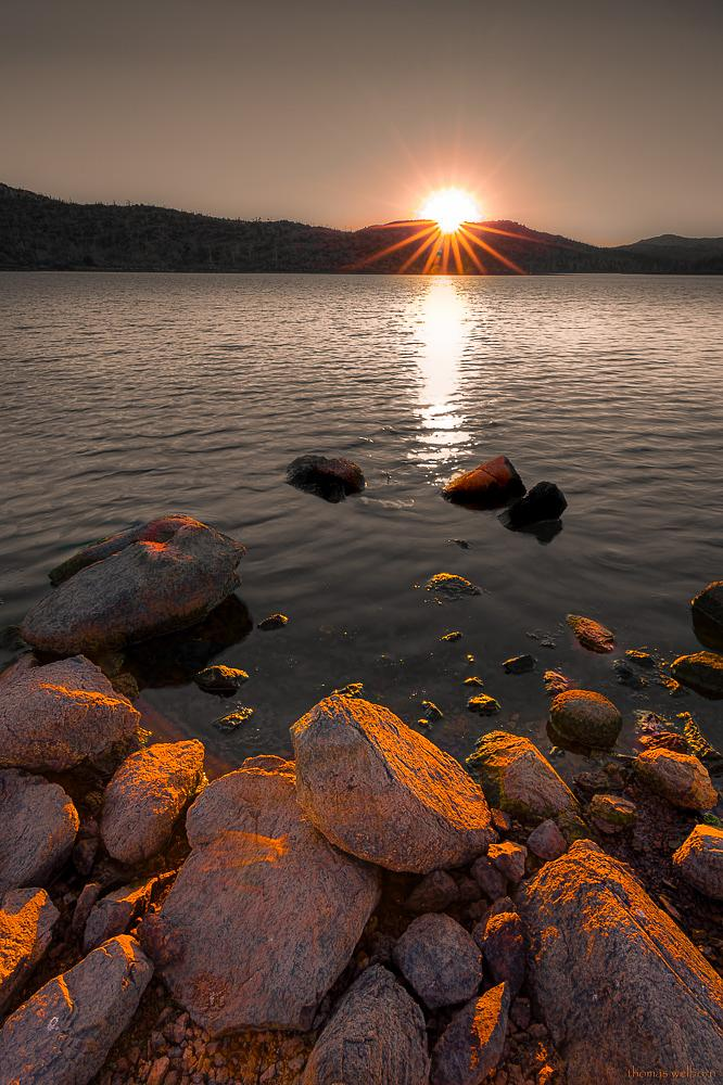 Photo in Landscape #landscape #lake #rhyolite #sunset #2015 #holoceneimage #off world