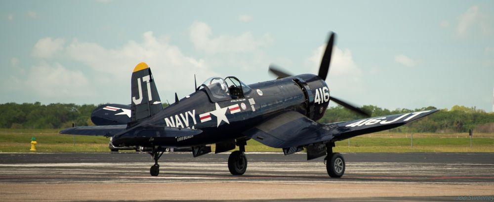 Photo in Vintage #f-4u #airshow #macdill afb #airfest 2016 #navy #corsair #vought #wwii #fighter