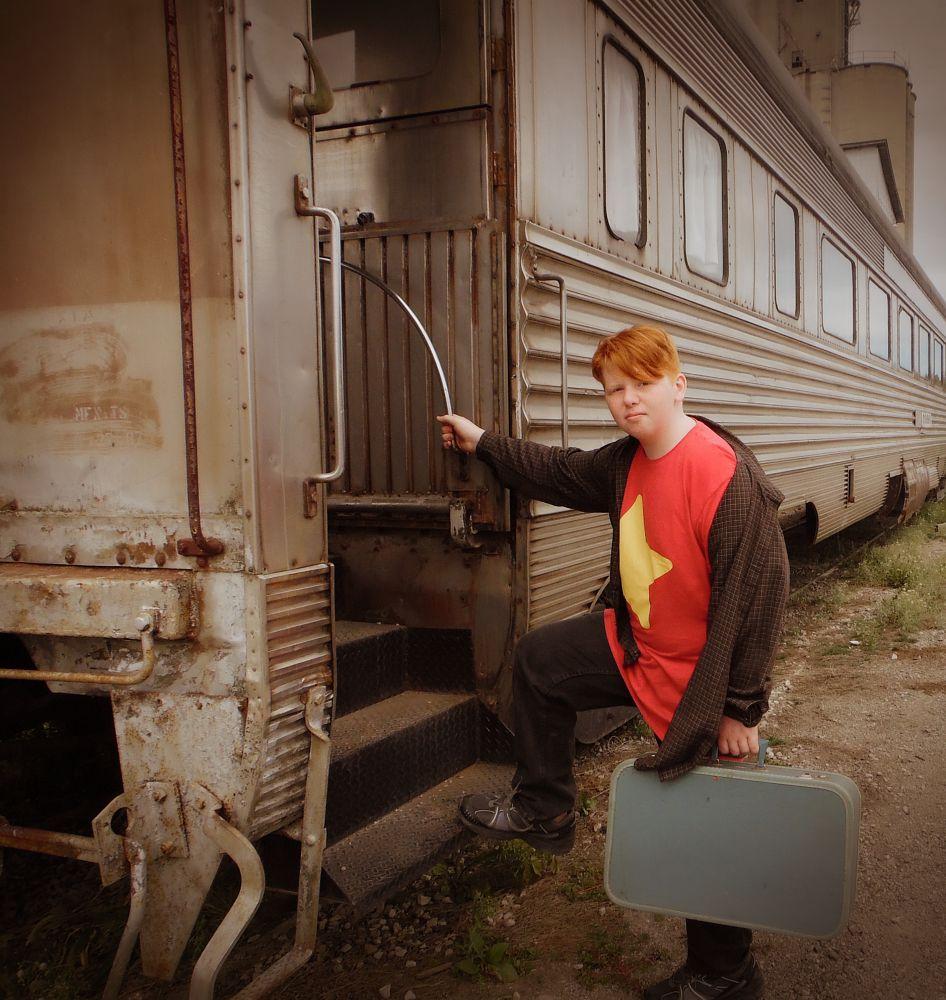 Photo in Random #train #travel #suitcase #ginger #redhead