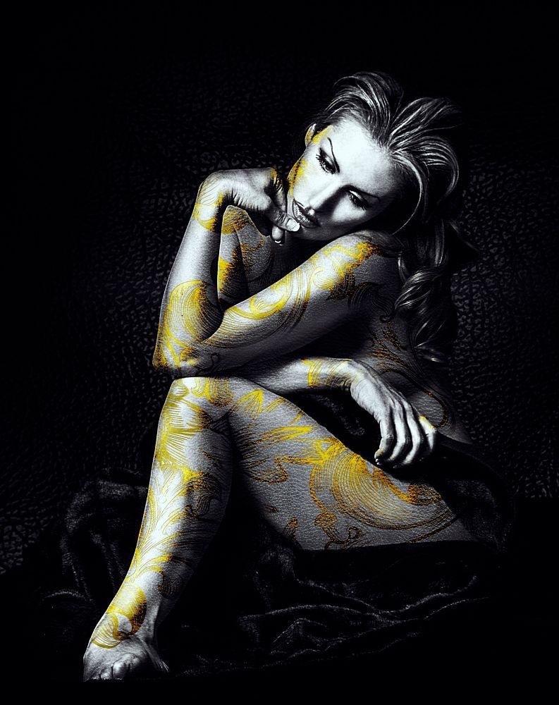 Photo in Fine Art #portrait #nude #woman #girl #female #sensual #human #person #model