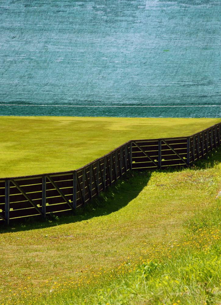 Photo in Abstract #line #green #grass