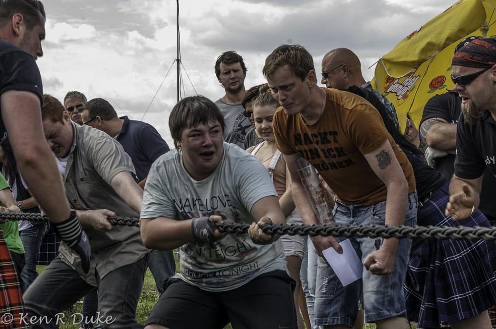Photo in Sports #highland games #hameln #tug-of-war
