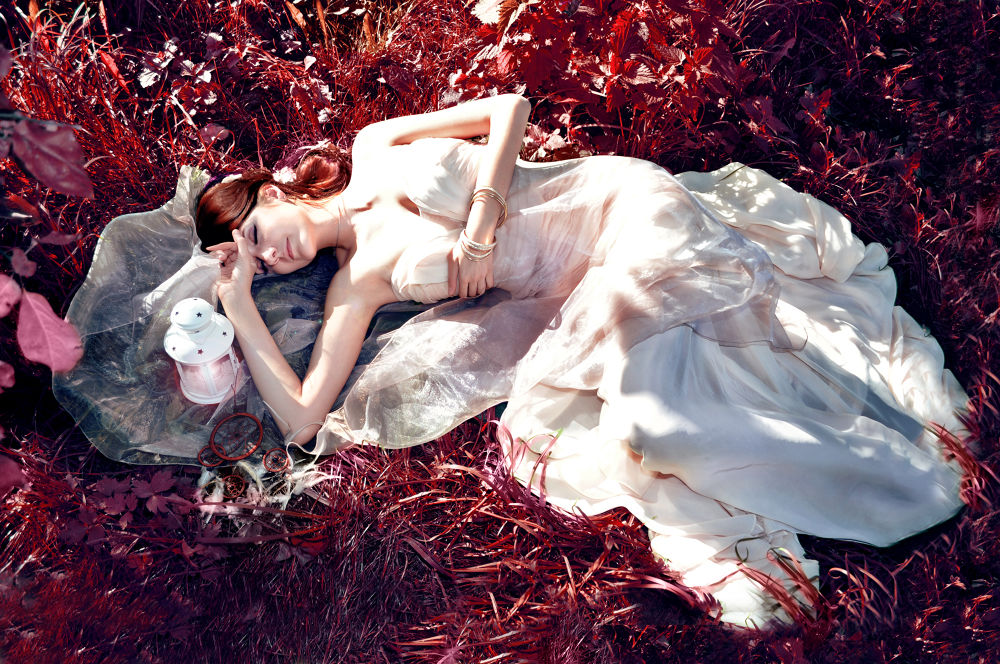 Photo in Random #photography #portrait #outdoor #fairytale #dream #garden