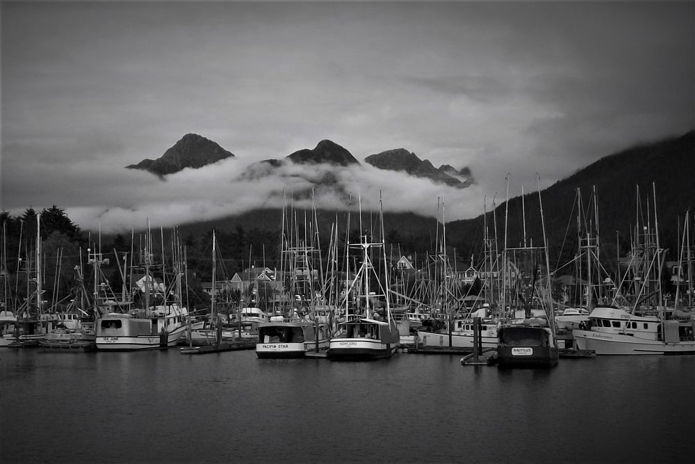 Photo in Landscape #port #landscape #waterscape #sailboats #mountains