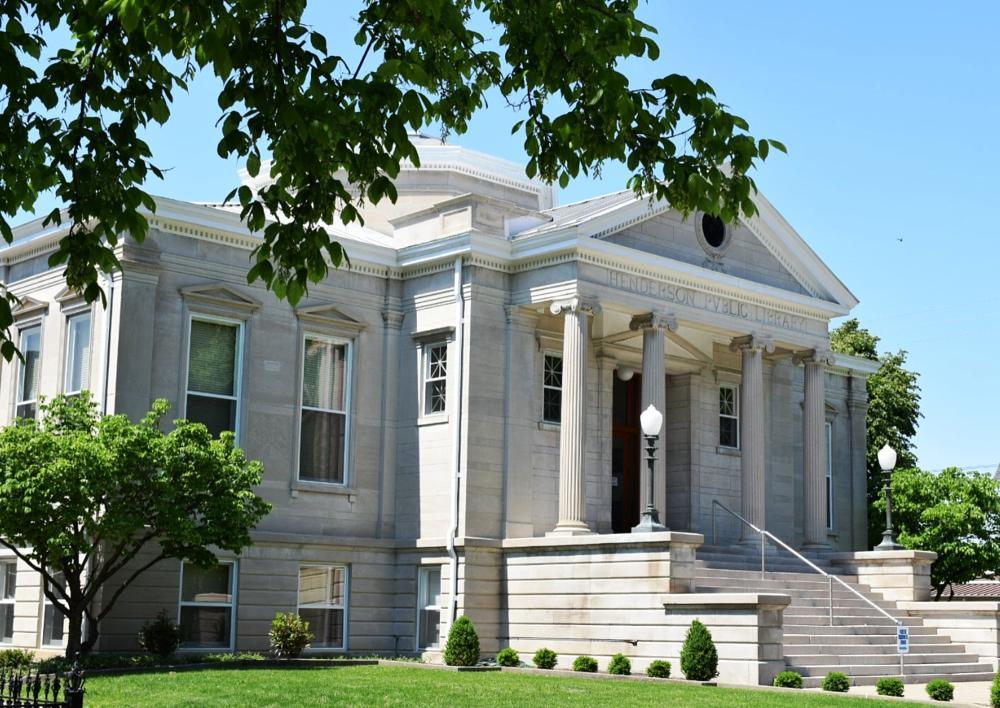 Photo in Architecture #carnegie #historic public building #historic library #archetecture