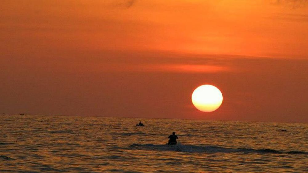 Photo in Random #sunset #sea #sky