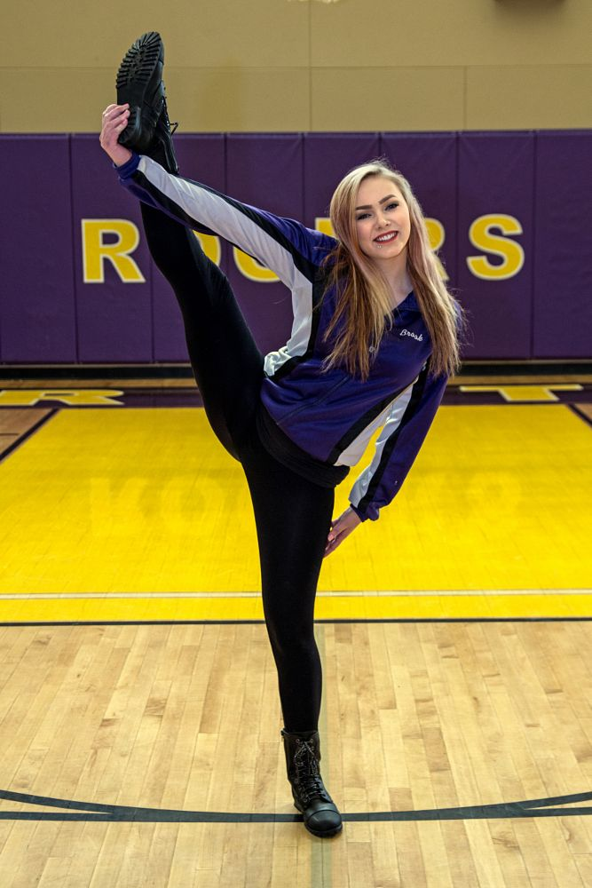 Photo in Sports #dance team #young woman #people #high school #flexible