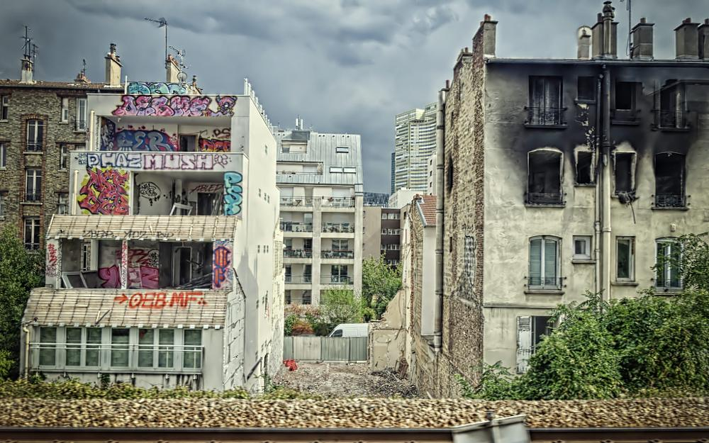 Photo in Street Photography #war #scene #buildings #nikon #d7000 #city #urban #view #light #clouds #cityscape