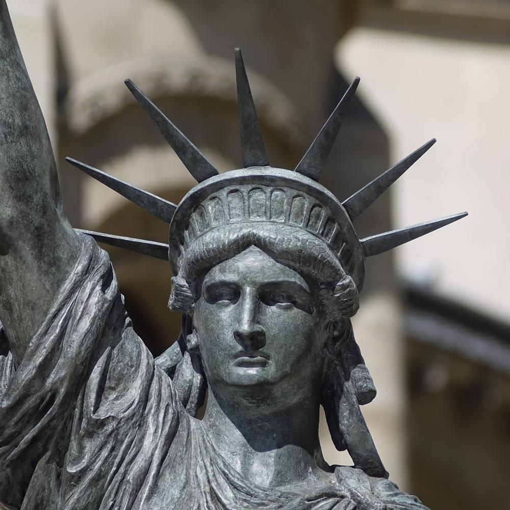 Photo in Street Photography #statue #liberty #paris #art #bartholdi #eiffel #lumix #g1