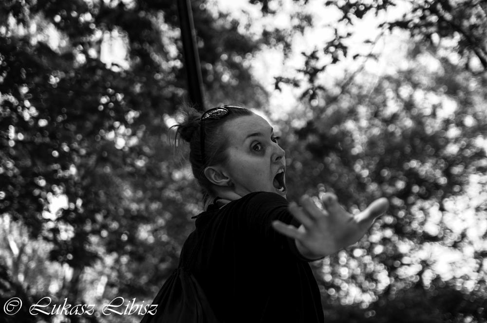 Photo in Portrait #girl #woman #dance #fly #black #white #bnw