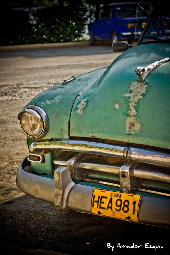 Photo in Vehicle #car #coche #cuba #habana #old #vintage #almendrón #ypa2013 #amador esquiu #amadoresquiu