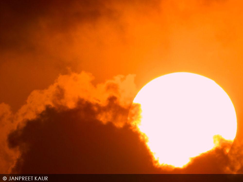 Photo in Astrophotography #sun #sunset #astro #landscape #sky