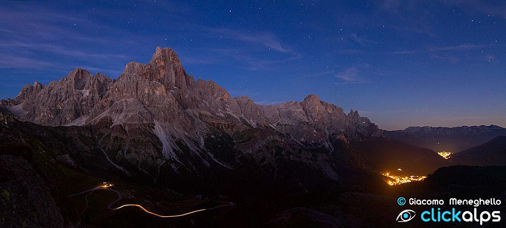 Photo in Landscape #alps #mountains #dolomiti #night
