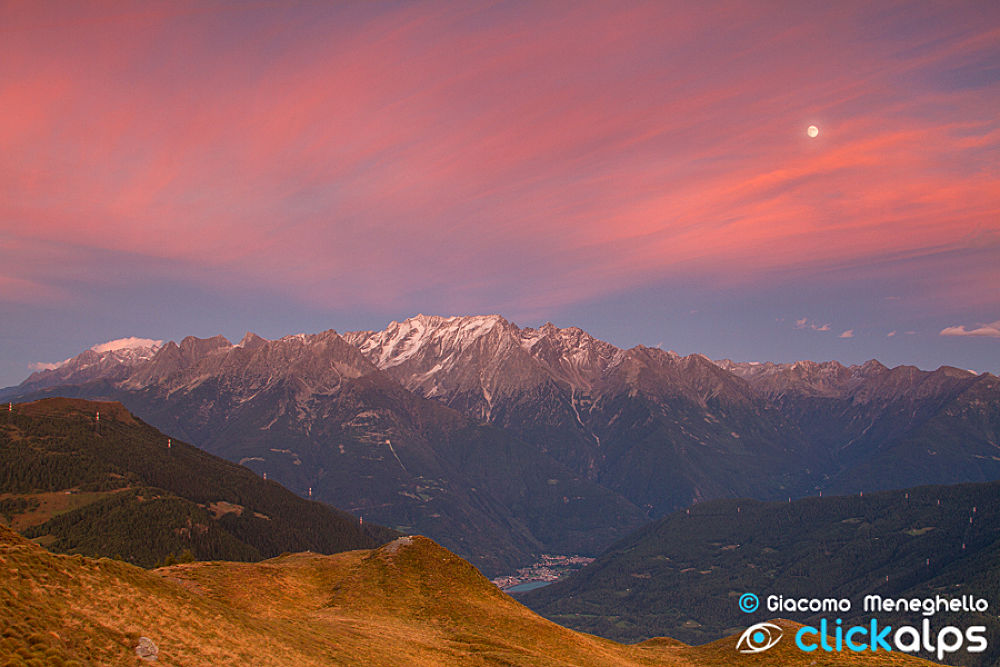 Photo in Landscape #mountains #alps #suset