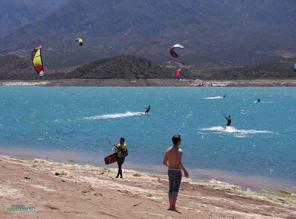 Photo in Sports #kite #agua #arena #sol #verano