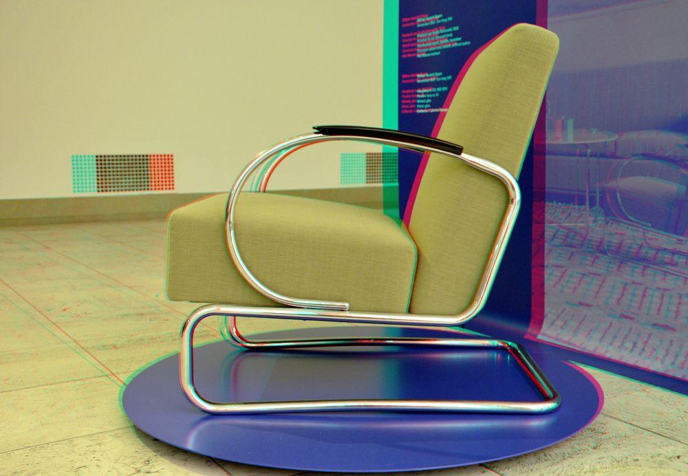 Photo in Fashion #gispen #chair #boijmans #stereo #3d
