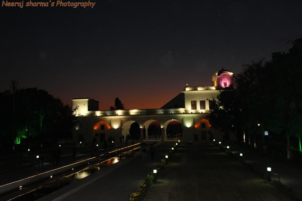 Photo in Random #mughal garden #mughal #garden #lights #lamps