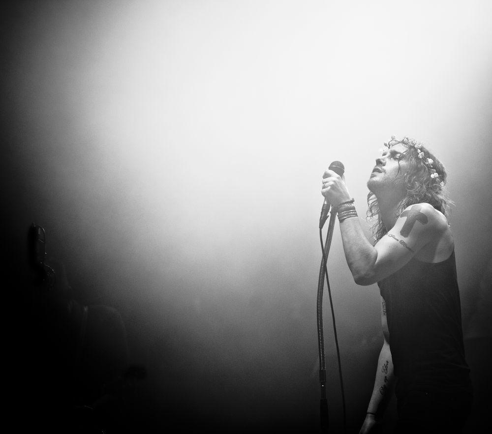 Photo in Random #julien doré #live #music #musique #estivale #estavayer #rock #switzerland #suisse #france #black and white #noir et blanc
