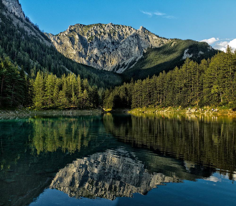 Photo in Landscape #gruner see #lake #mountains #austria