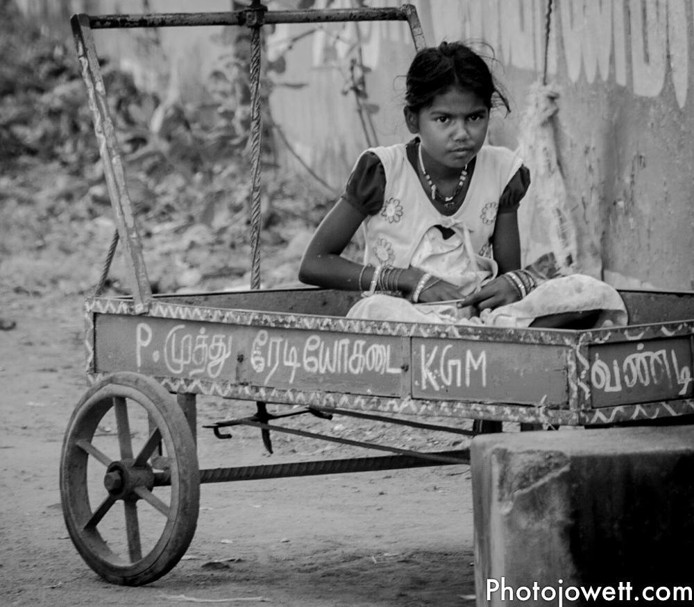 Photo in People #street scene #chettinad #india #portrait #tamil nadu