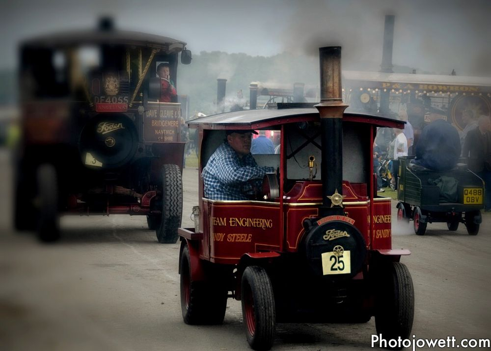 Photo in People #steam engine #people #cumbria #vehicle #vintage #travel