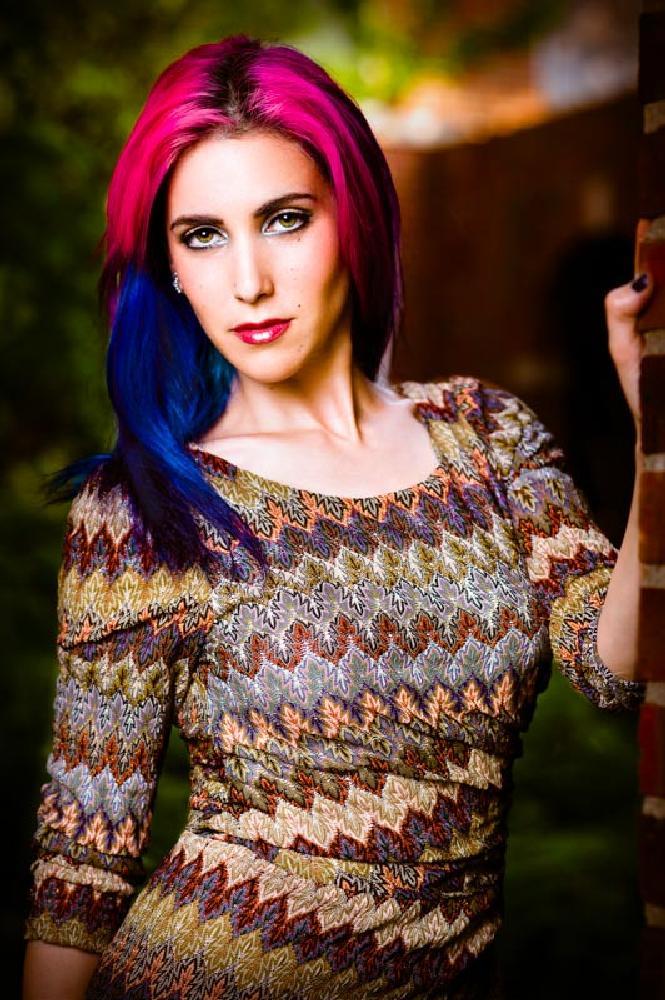 Photo in Portrait #edgy #fashion #portrait #hair color #bokeh