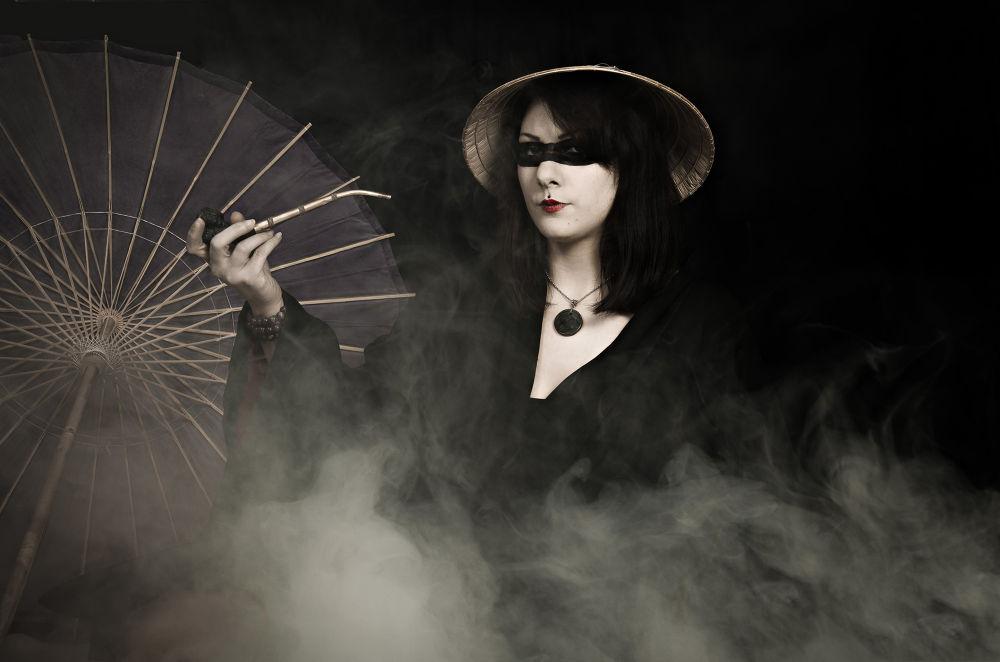 Photo in Fine Art #witch #japan #fog