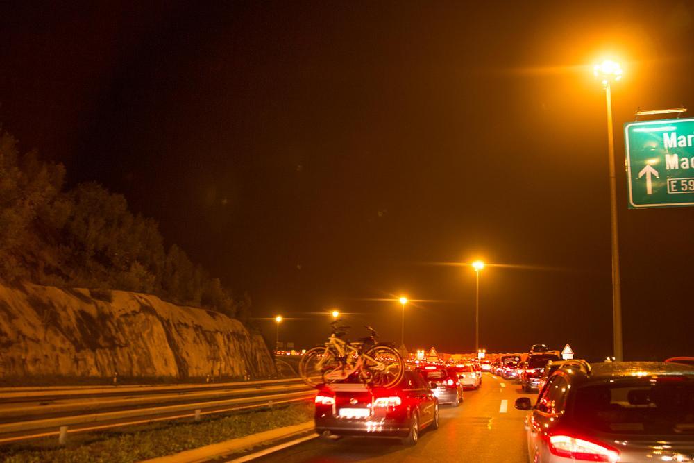 Photo in Random #traffic jam #urban