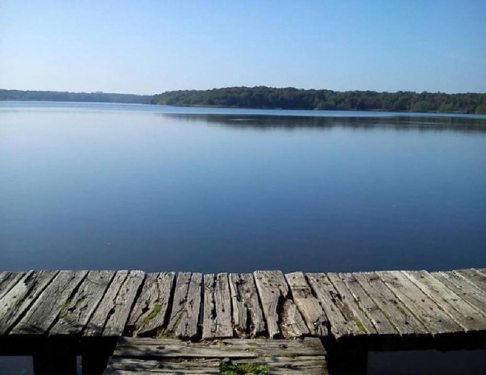 Photo in Landscape #lac #blue #ponton