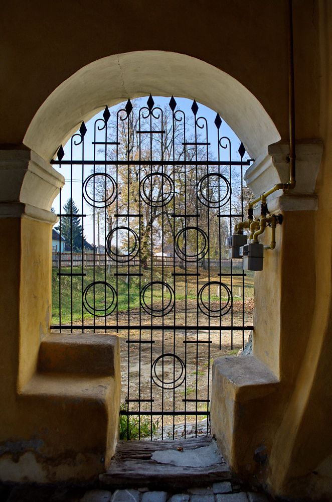 Photo in Architecture #church #view #grill #capture #nature #gate #window