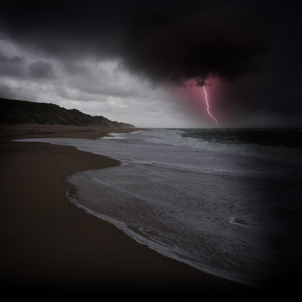 Photo in Sea and Sand #lightening #the elements #coast
