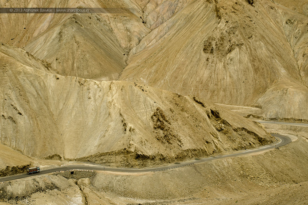 Photo in Landscape #desert #vision #jammu and kashmir #india #ladakh #road #travel #yellow #nikon #ypa2013 #tokina