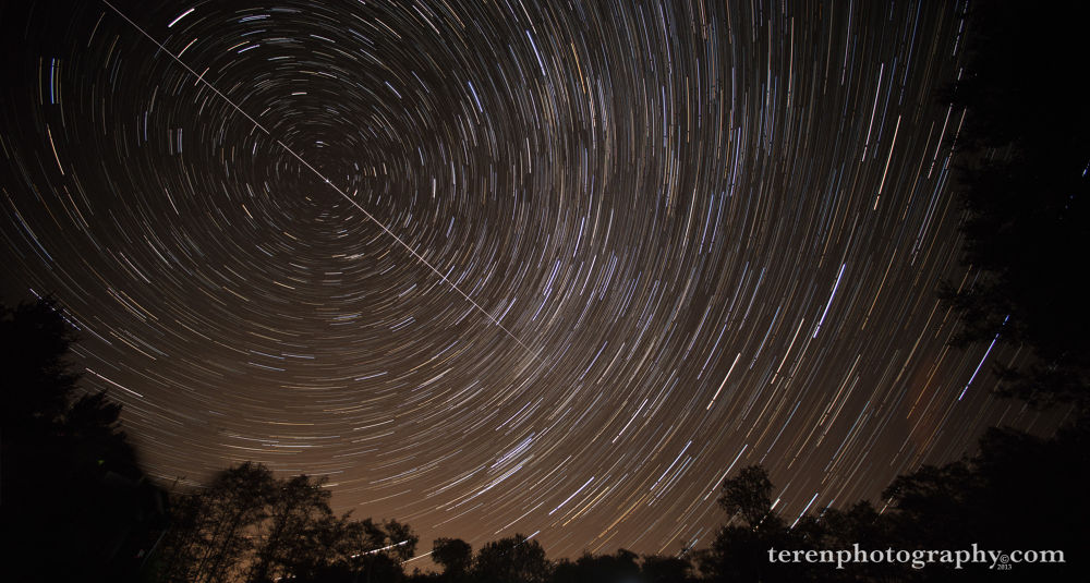 Photo in Astrophotography #iss #space station #star trails #stars #star circles #astrophotography #terenphoto.com