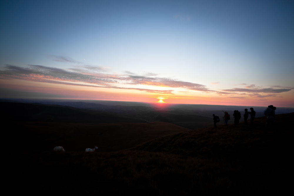 Photo in Landscape #hills #mountain #nature #landscape #sunset #people #sheep