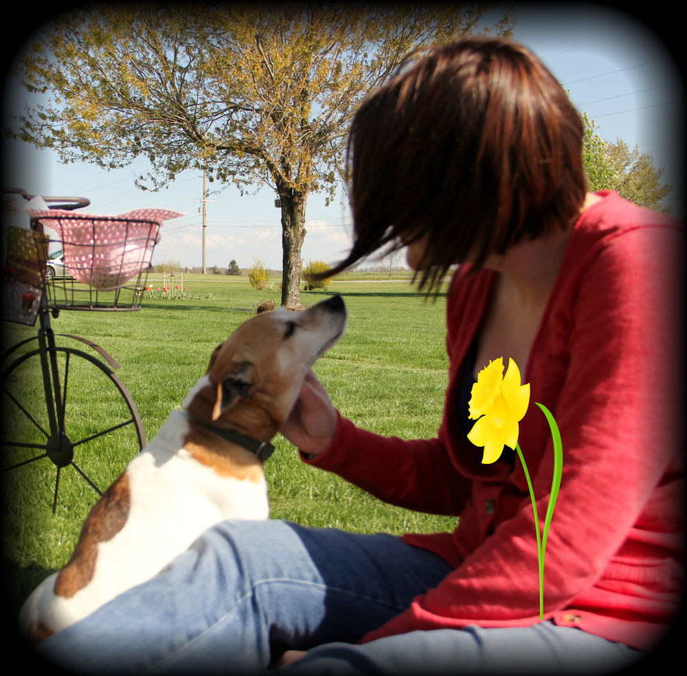 Photo in Random #friends #dogs #spring #ohio #easter